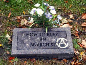 Anarchist Gravestone